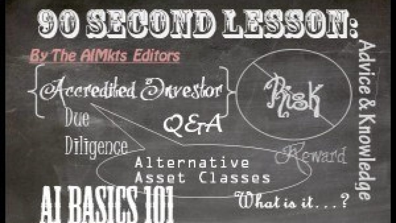 90-Second Lesson: What Is a Sponsor, General Partner and