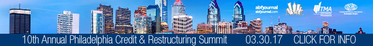 NYIC Philidelphia Credit & Restructuring Summit