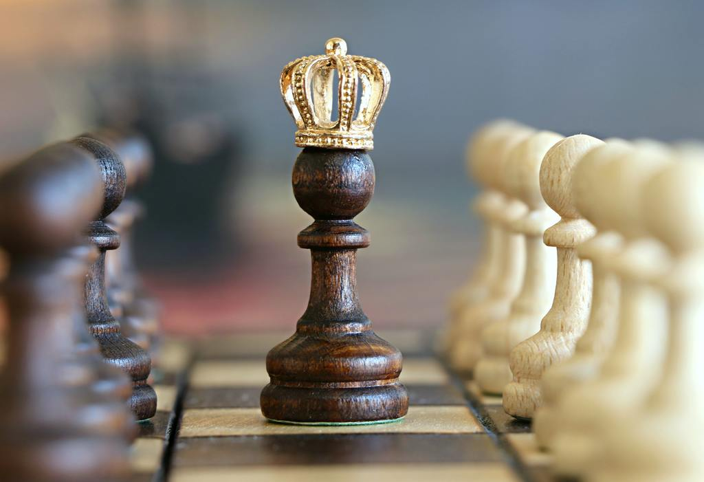 A chess pawn wearing a crown, symbolizing the Co-Investment SPVs mistakes in venture capital