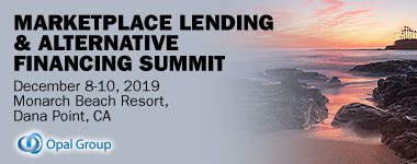 Opal Group - Marketplace Lending & Alternative Financing Summit