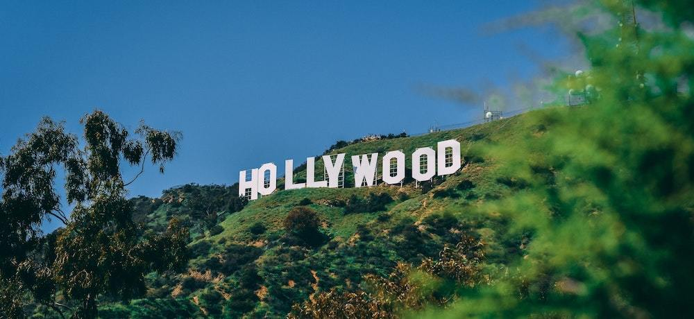 The Hollywood sign, symbolizing celebrity investing and investments