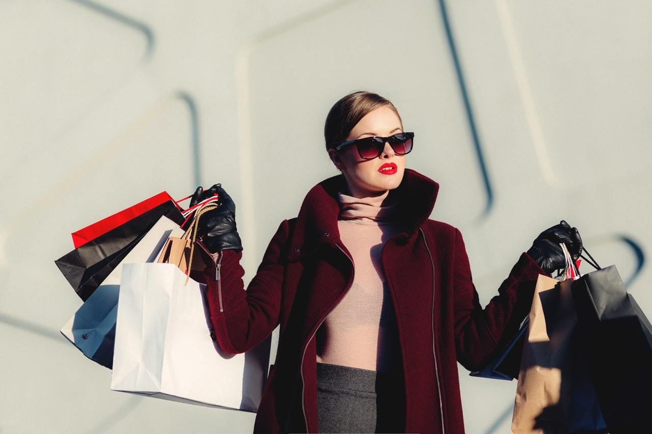 This shopaholic could benefit from lessons in debt management and credit card spending
