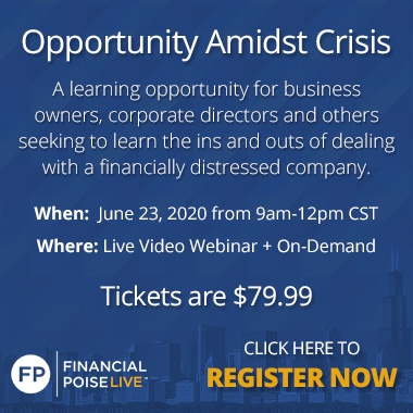 Opporunity Amidst Crisis Live Webinar