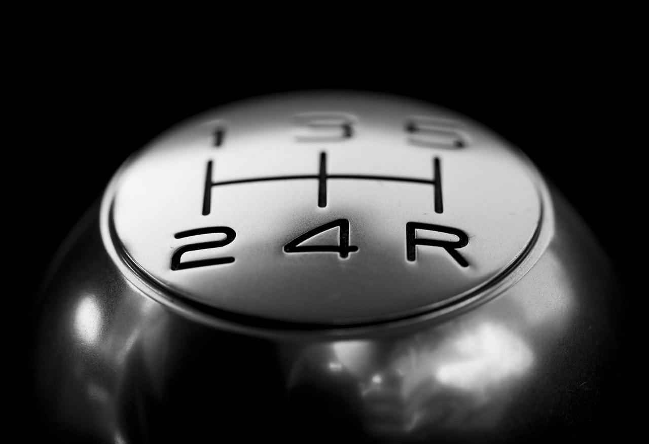 close-up of a gear shift, symbolizing how startup accelerators work