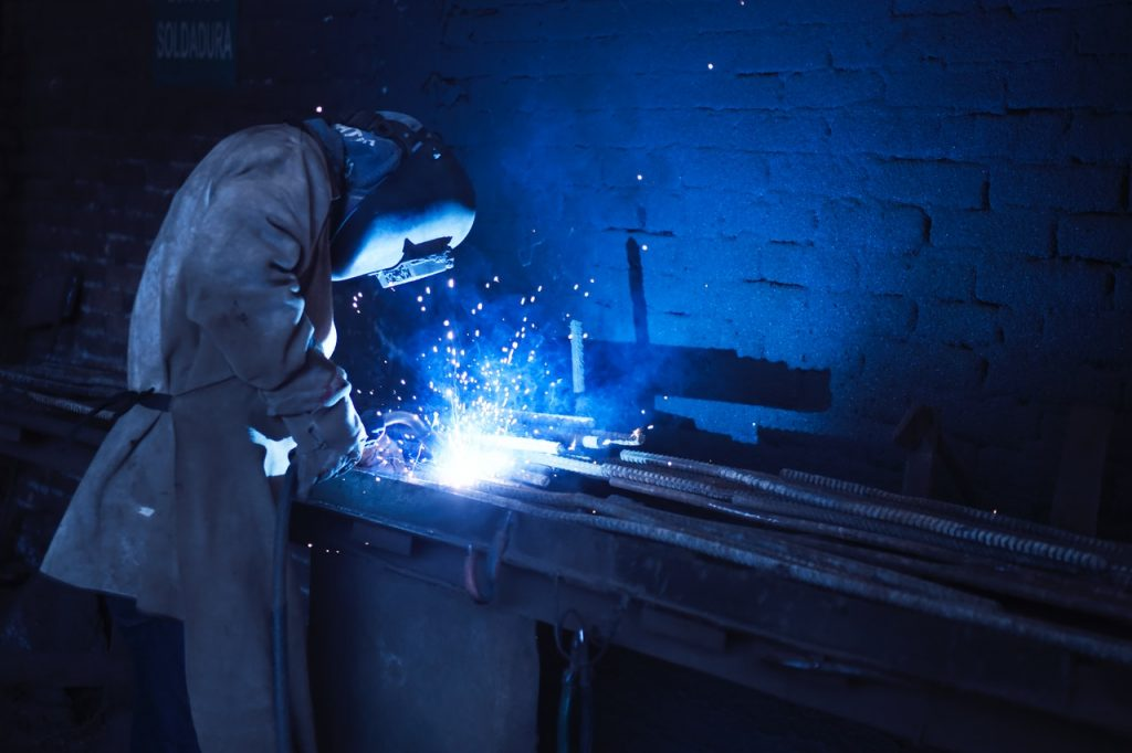 welder at work, representing making bad business decisions