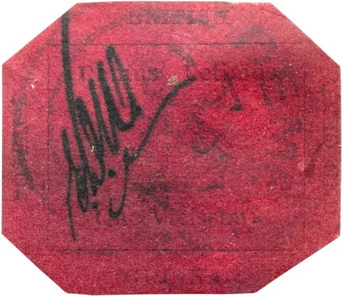 One-Cent Magenta Stamp