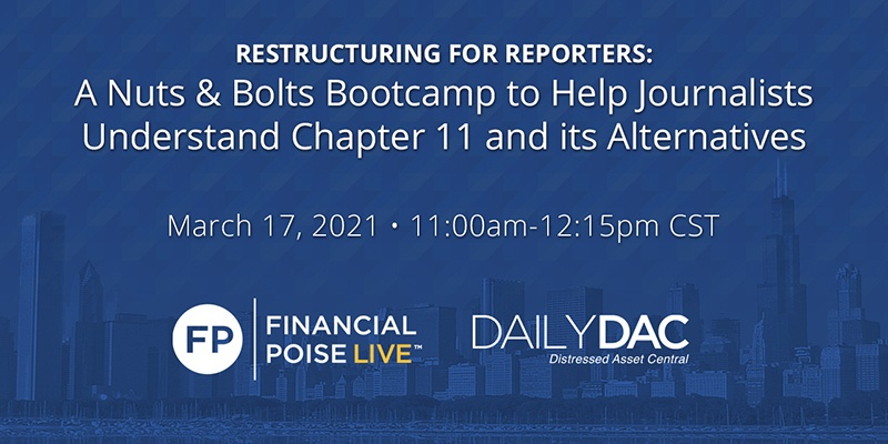Restructuring for Reporters Webinar