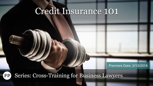 Cross Training for Business Lawyers - Credit Insurance-101