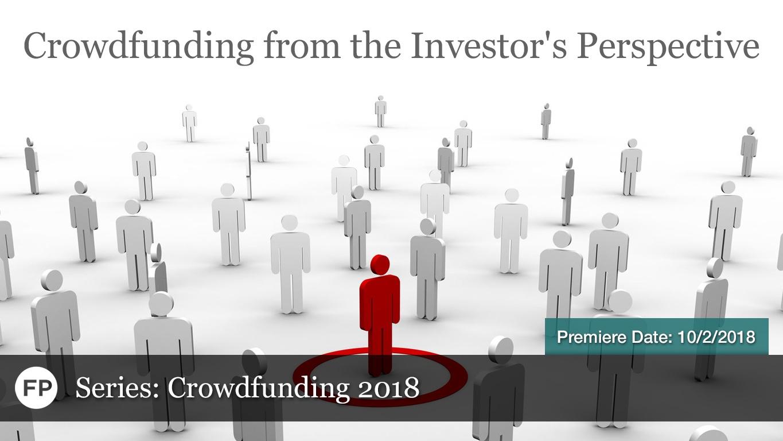 Crowdfunding - Investor Perspective