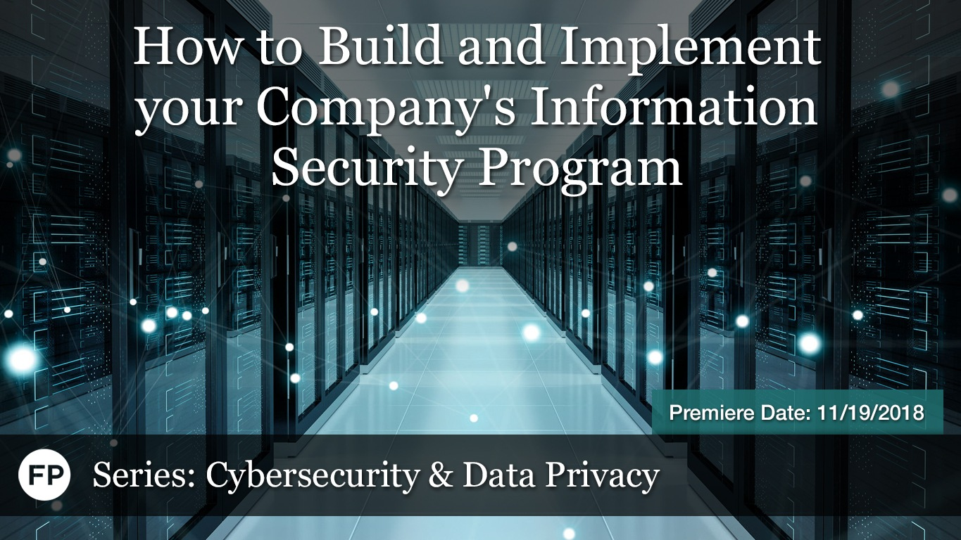 Cybersecurity - How to Build Security Program