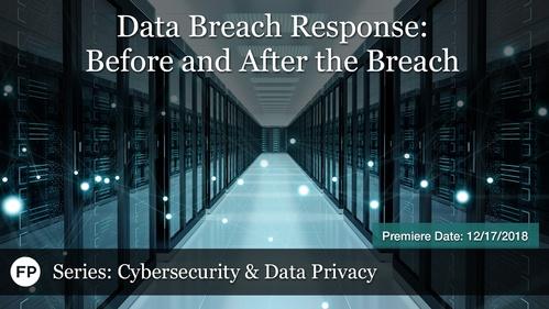 Cybersecurity - Data Breach Response