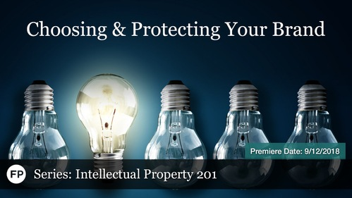 IP-201 - Protecting Your Brand