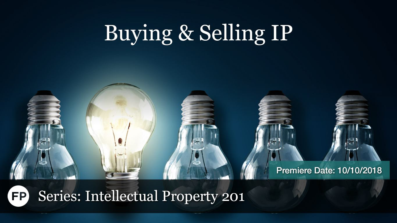 IP-201 - Buying Selling IP