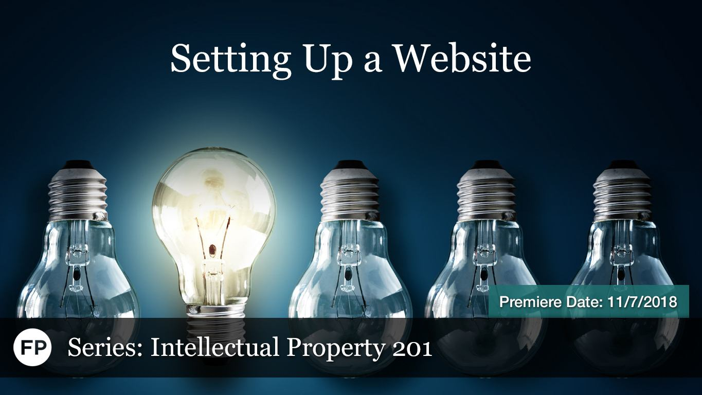 IP-201 - Setting Up A Website