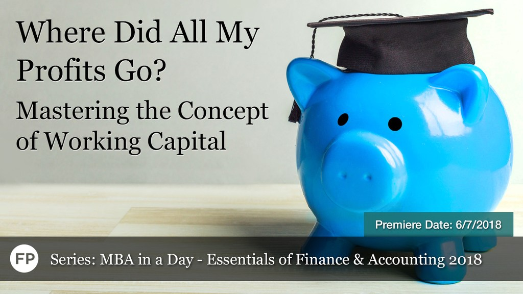 MBA in a Day - Working Capital
