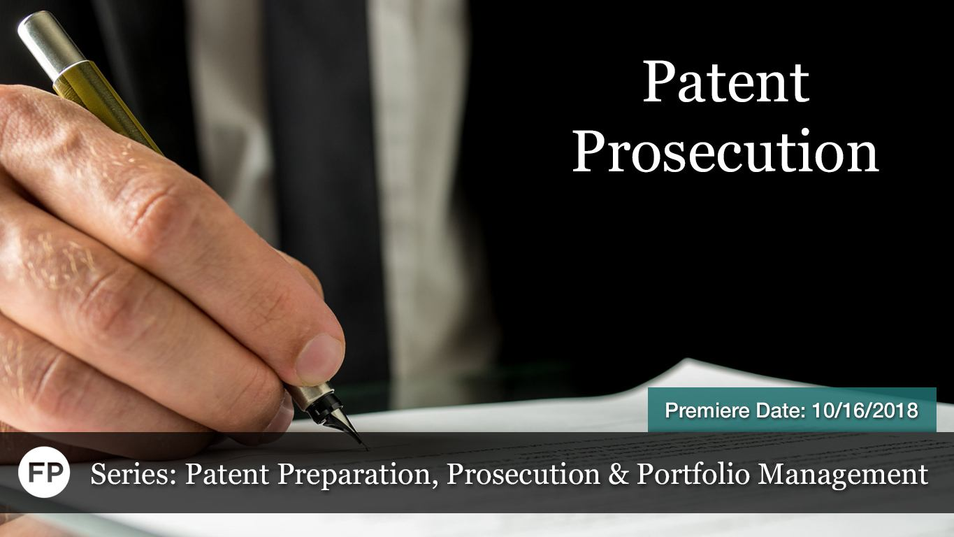 Patent PPP - Prosecution