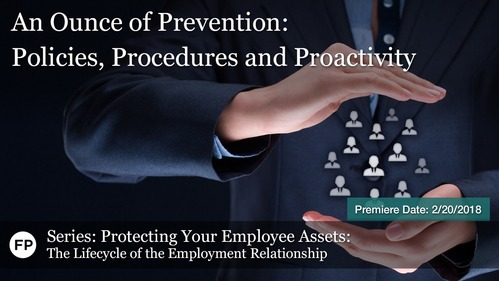 Protecting Employee Assets - An Ounce of Prevention