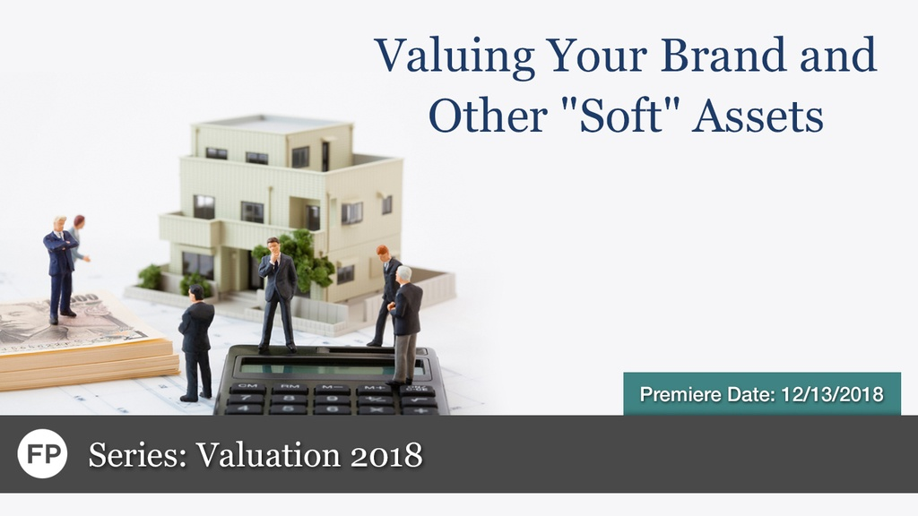 Valuation - Valuing Your Brand