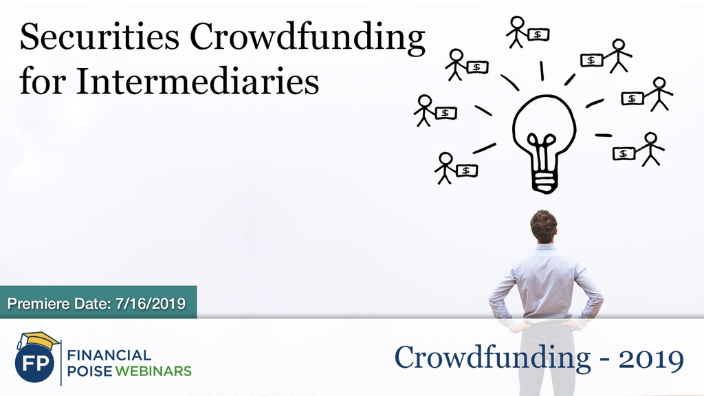 Crowdfunding 2019 - Securities Crowdfunding