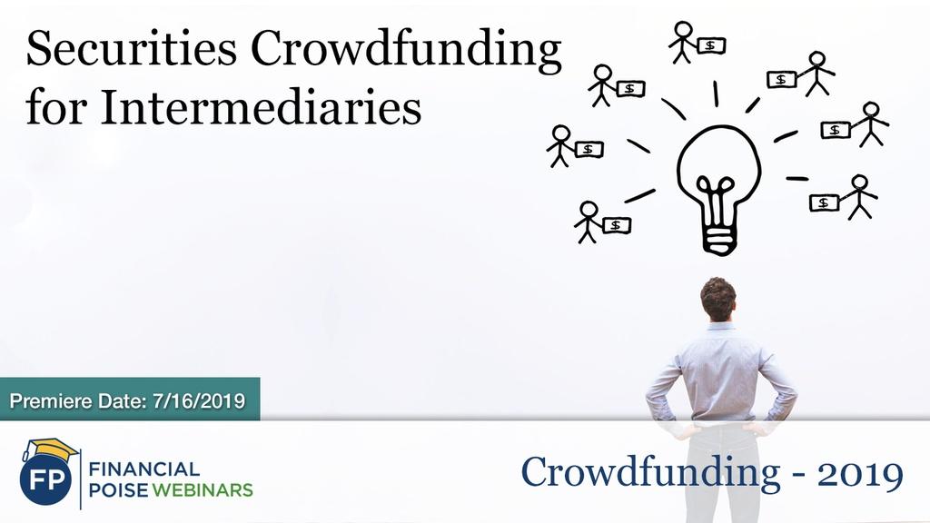 Crowdfunding 2019 - Securities Crowdfunding
