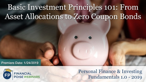 Personal Finance Investing 2019 - Basic Principles