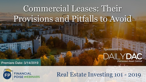 Real Estate Investing 101 2019 - Commercial Leases