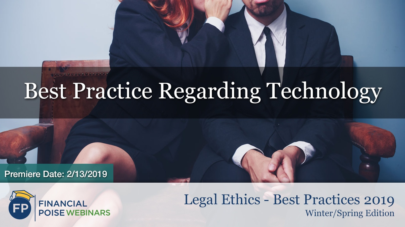 Legal Ethics Winter - Best Practice Technology