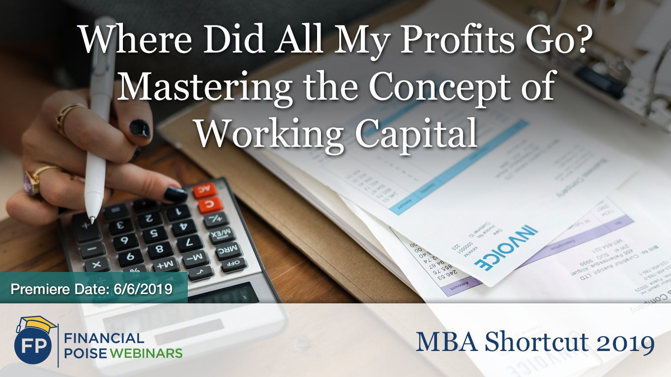 MBA Shortcut - Concept of Working Capital