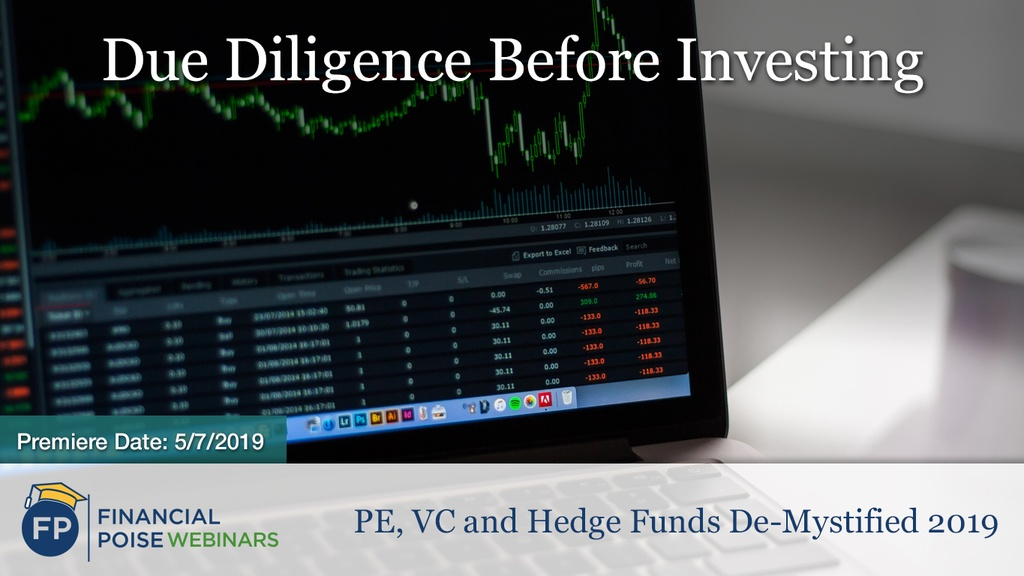 PE VC Hedge Funds - Due Diligence