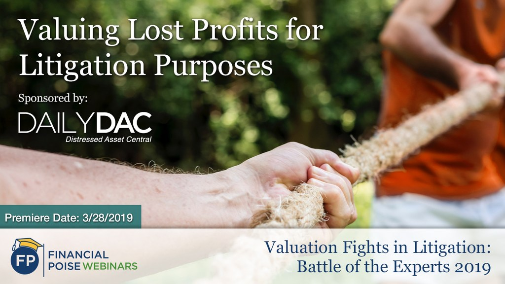 Valuation Fights in Litigation - Valuing Lost Profits