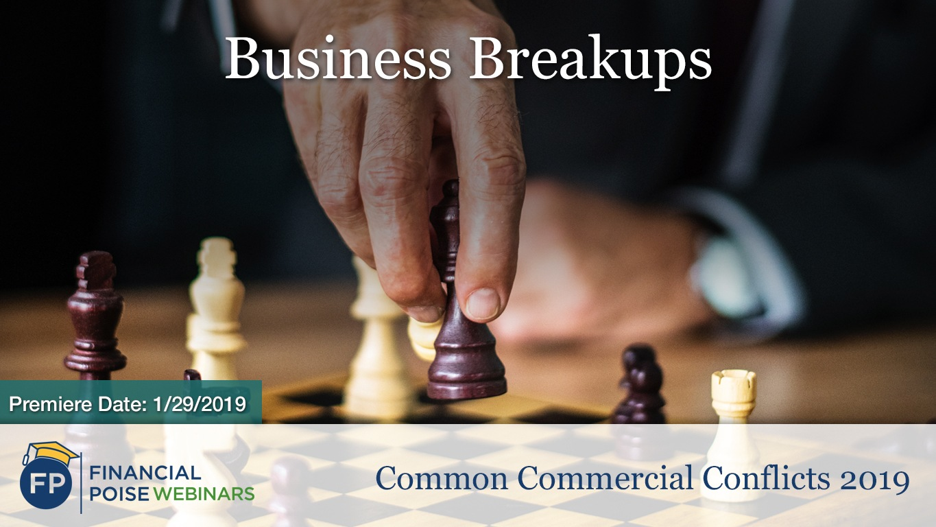 Common Commercial Conflicts - Biz Breakups