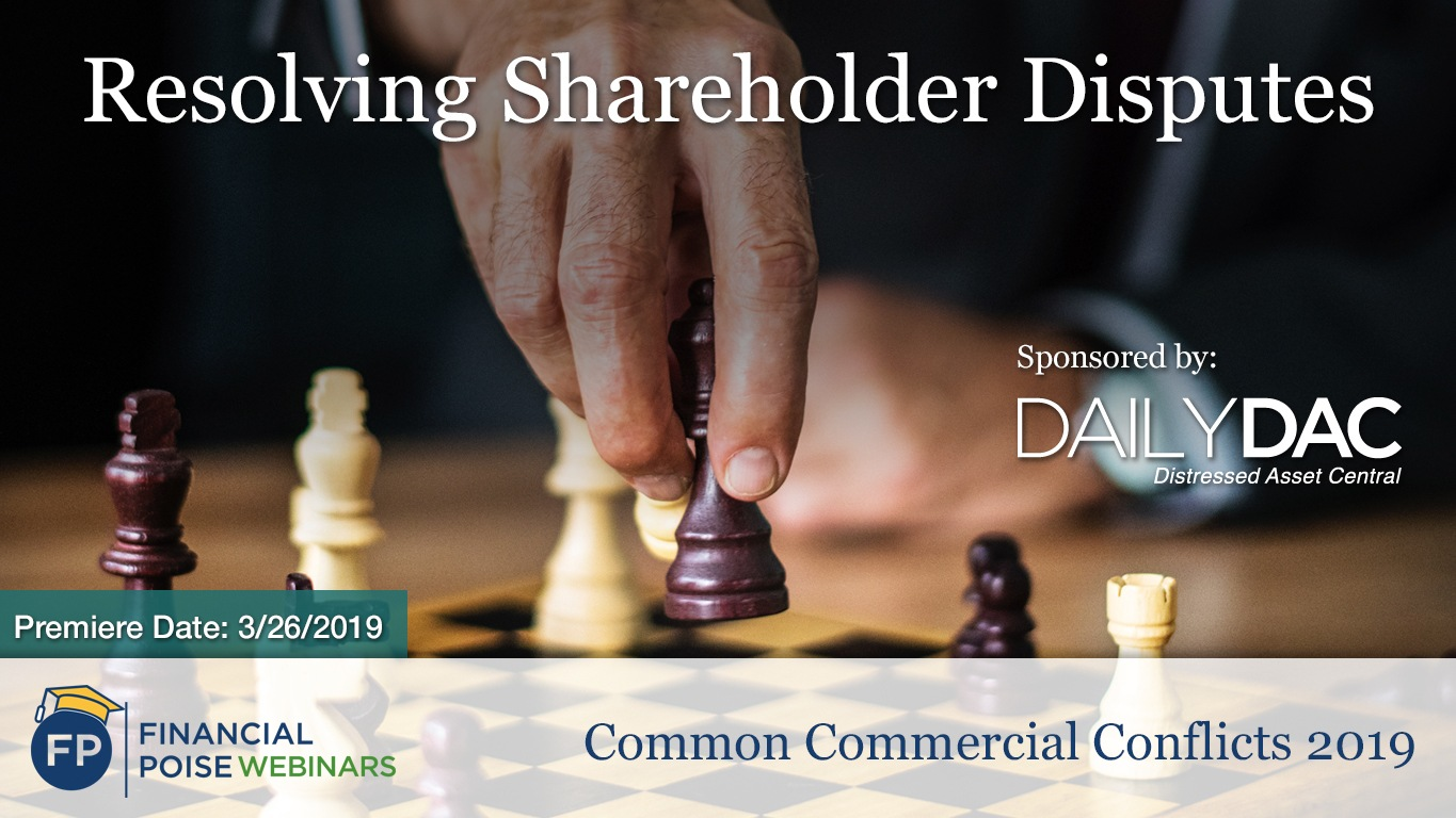 Common Commercial Conflicts - Shareholder Disputes