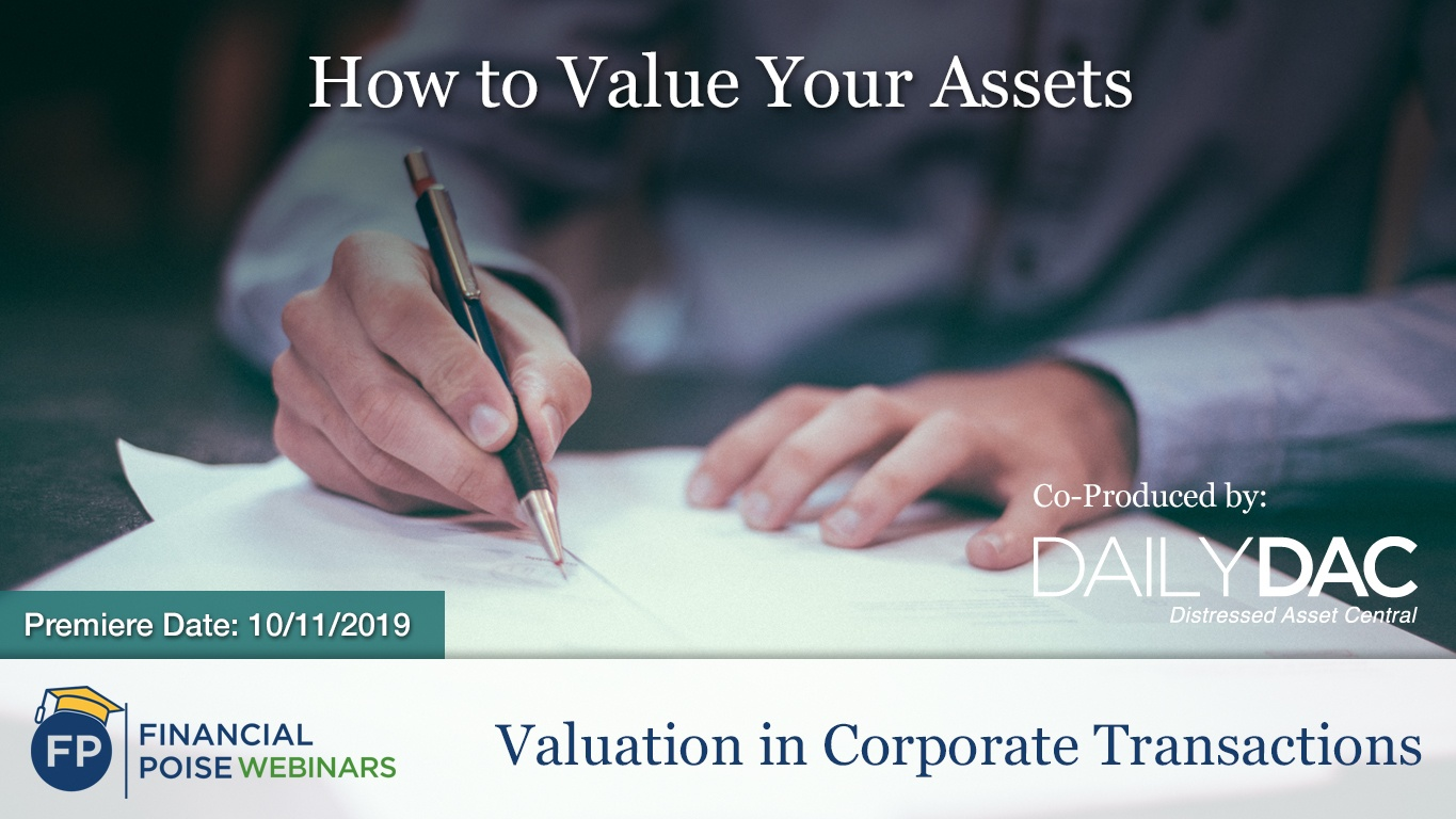 Valuation in Corporate Transactions - How to Value your Assets