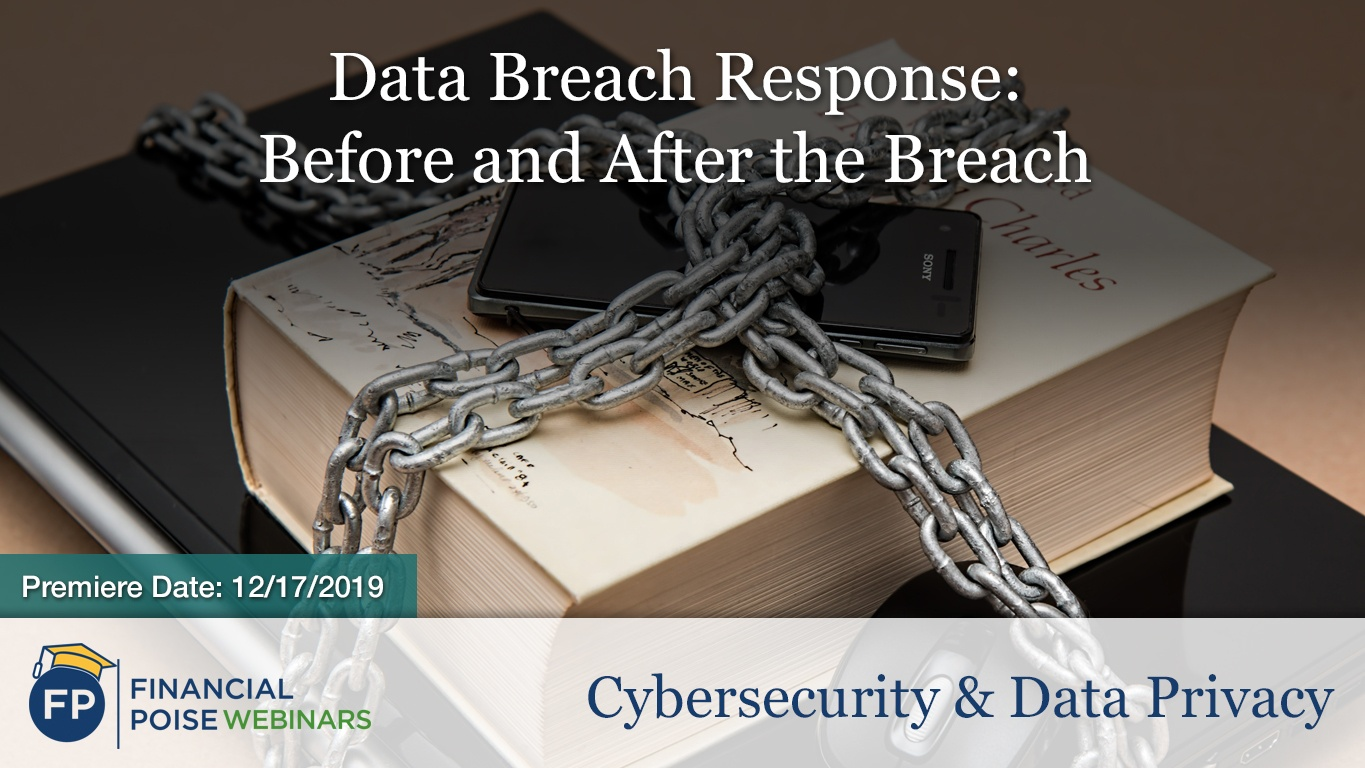Cybersecurity Data Privacy - Data Breach Response