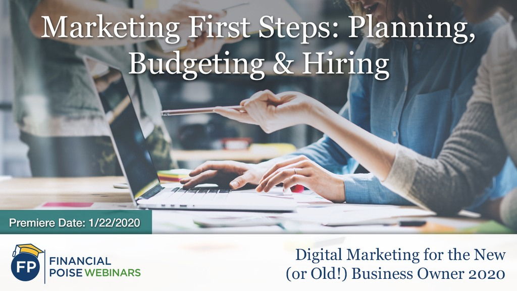Digital Marketing Tips - Marketing First Steps