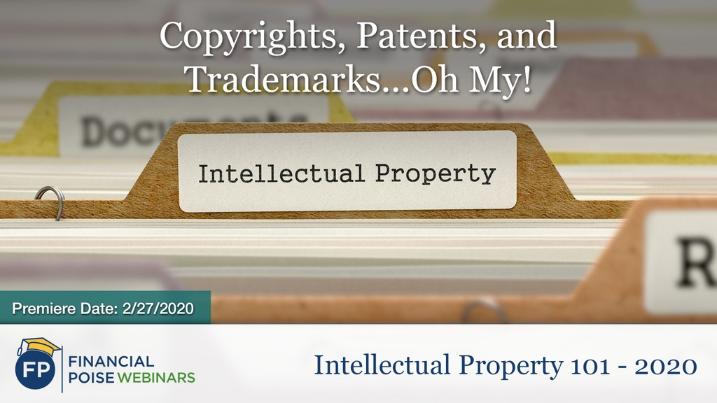 IP 101 - Copyrights Patents Trademarks