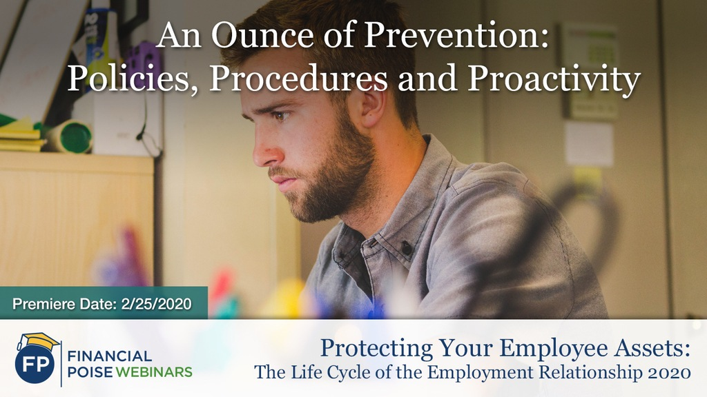 Protecting Employee Assets - Policies Procedures Proactivity