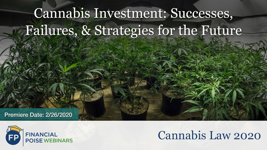 Cannabis Law - Cannabis Investment