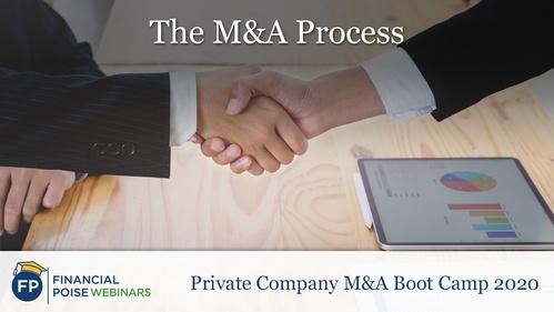 Private Company MA Boot Camp - The MA Process