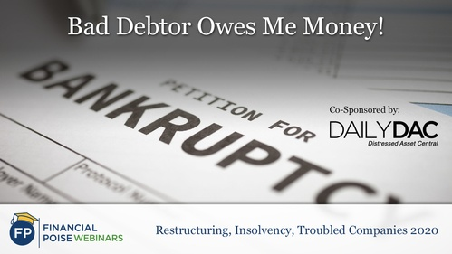 Res Ins Troubled Companies - Bad Debtor Owes Me Money