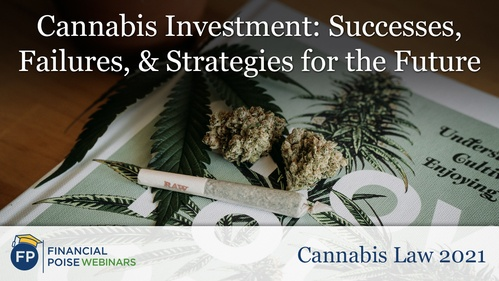 Cannabis Law - Cannabis Investment