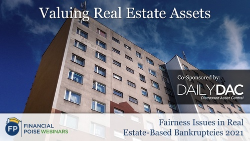 Fairness Issues in Real Estate Based Bankruptcies - Valuing Real Estate Assets