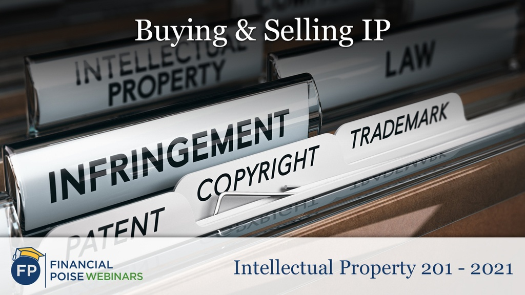 IP 201 - Buying and Selling IP